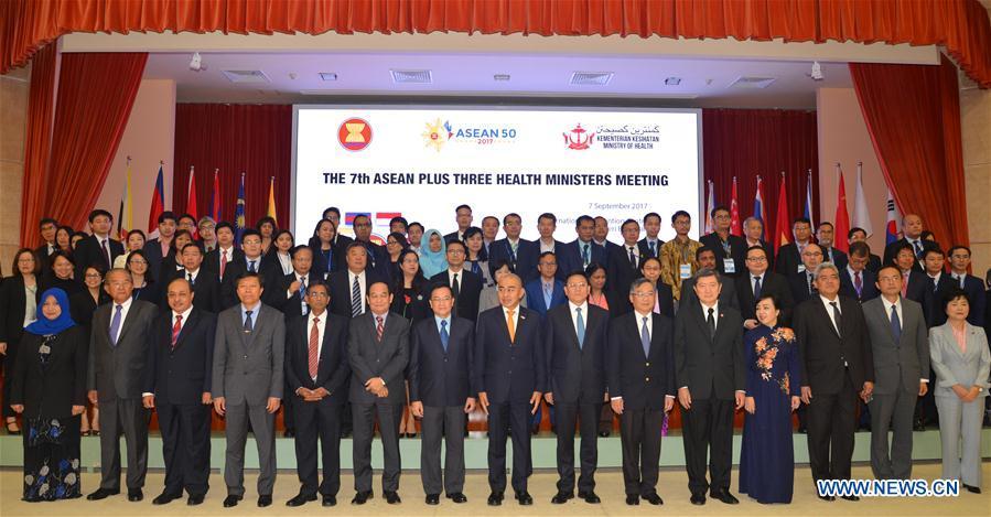 BRUNEI-BANDAR SERI BEGAWAN-CHINA-ASEAN-COOPERATION-HEALTH SECTOR