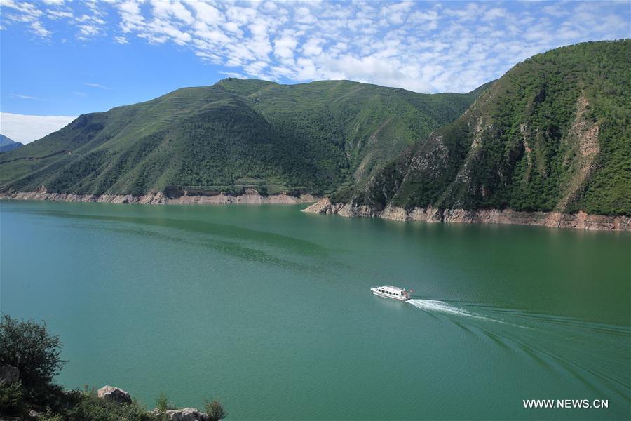 #CHINA-GANSU-JIUDIAN GORGE-SCENERY (CN)