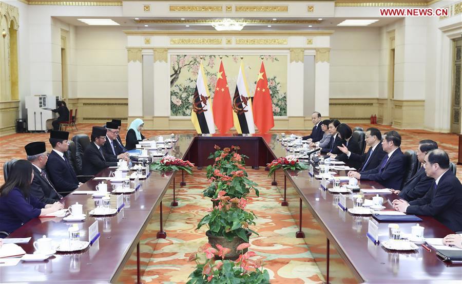 CHINA-LI KEQIANG-BRUNEI-MEETING(CN)