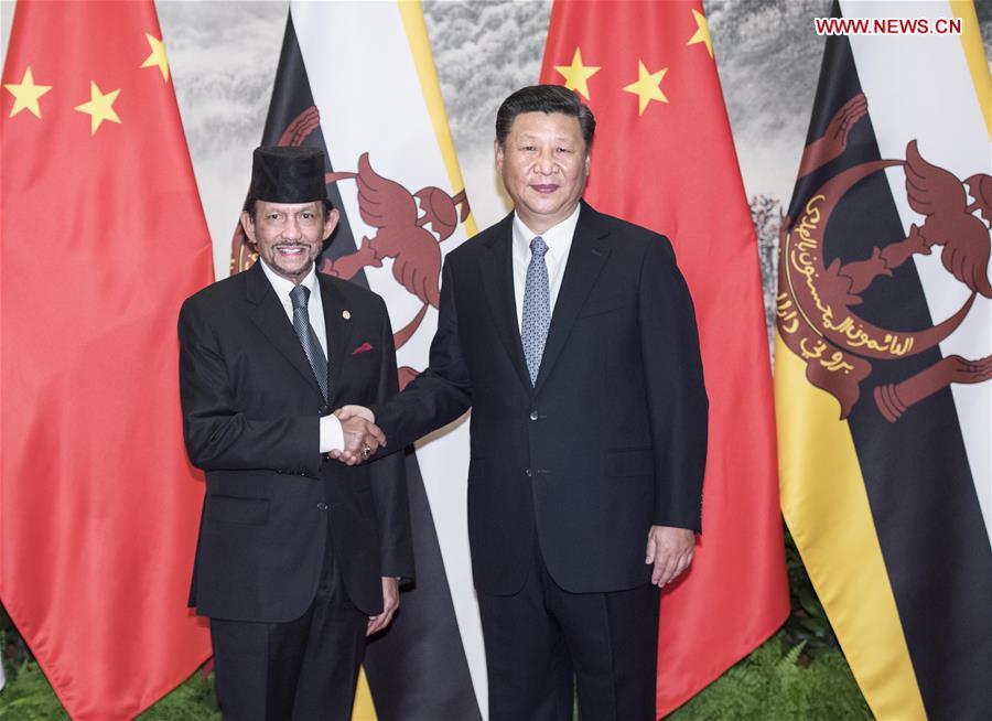 CHINA-XI JINPING-BRUNEI-TALKS(CN)