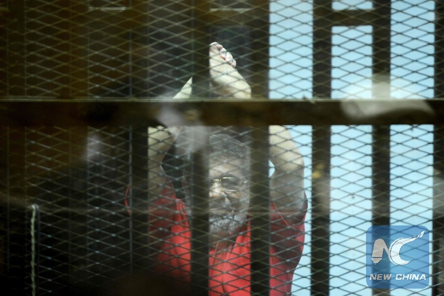 Egypt's Morsi gets life in jail over spying for Qatar - Xinhua