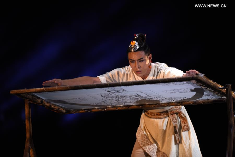 CHINA-QINGHAI-XINING-THANGKA-DANCE DRAMA (CN)
