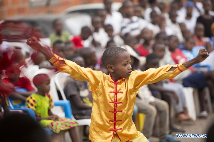 RWANDA-KIGALI-CHINESE-CONFUCIUS INSTITUTE-MARTIAL ARTS