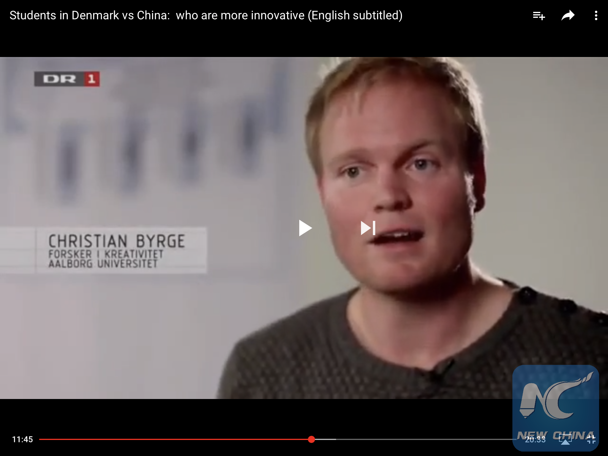 Feature: A returned Chinese international student sees China-Denmark