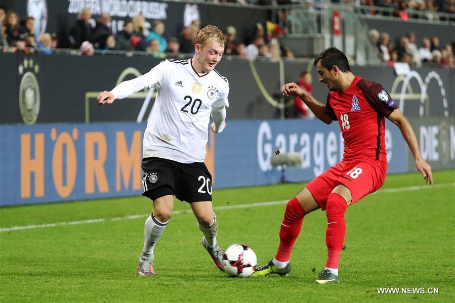Germany beats Azerbaijan 5-1 at FIFA 2018 W