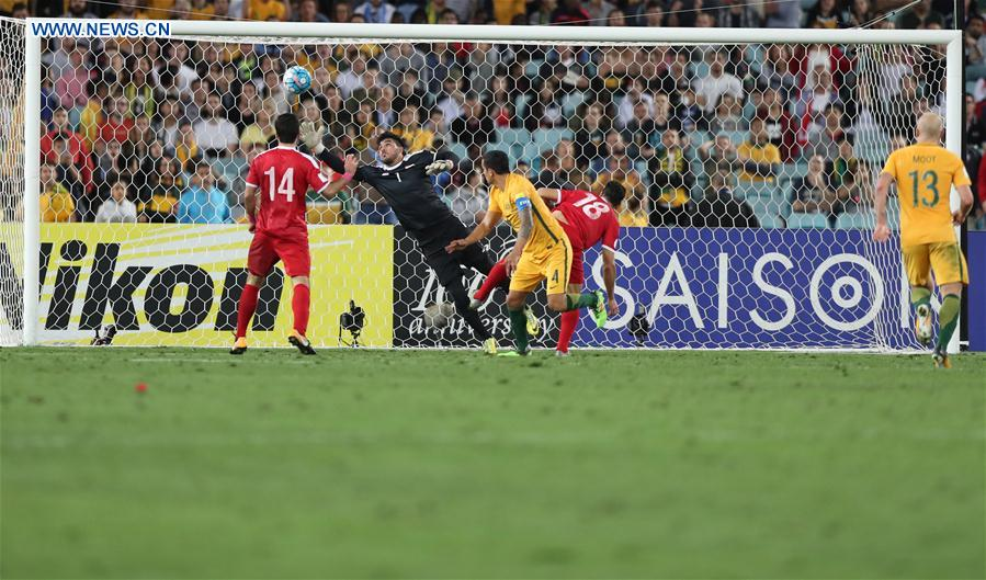 Australia defeat Syria 2-1 in extra time, to keep