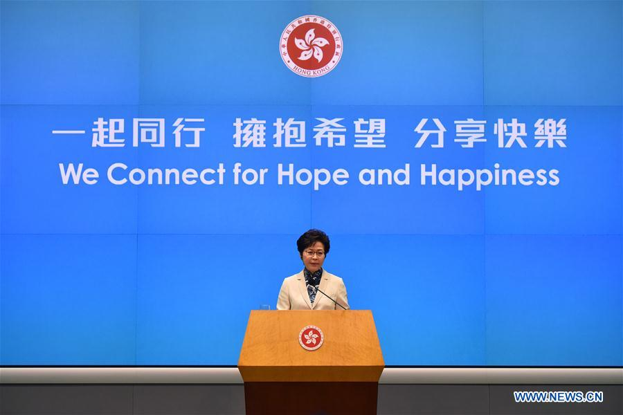 #CHINA-HONG KONG-CHIEF EXECUTIVE-POLICY ADDRESS-PRESS CONFERENCE (CN*)