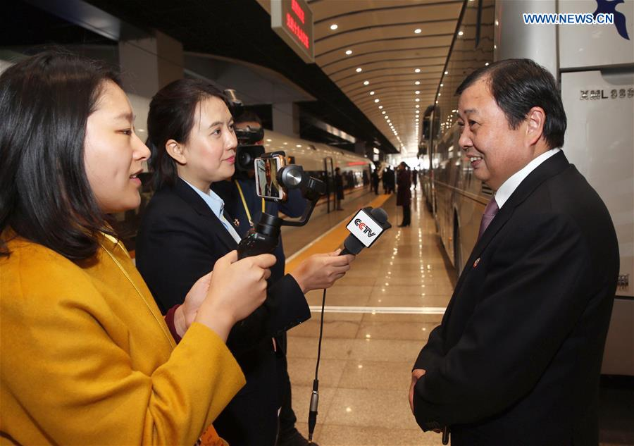 (CPC)CHINA-BEIJING-CPC NATIONAL CONGRESS-DELEGATES-ARRIVAL (CN)