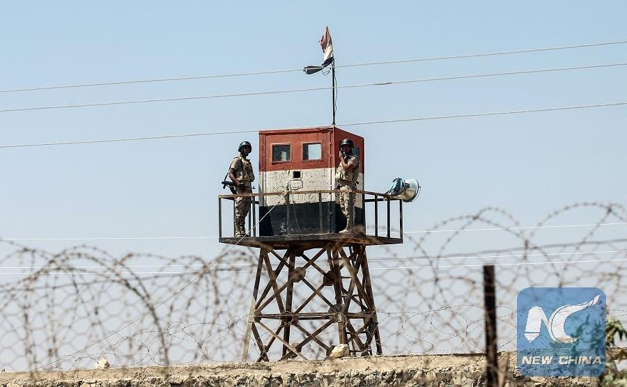Six Egyptian soldiers killed in terrorist attacks on Sinai