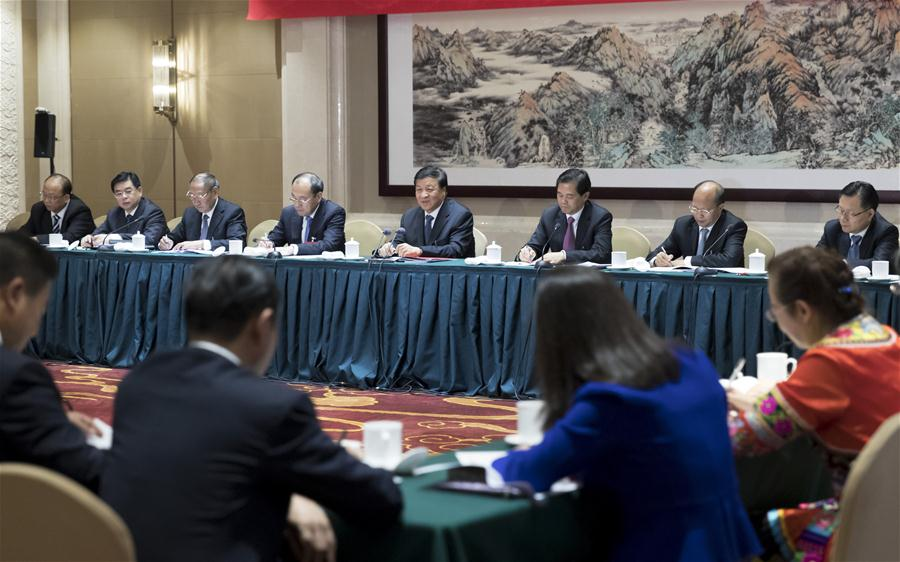(CPC)CHINA-BEIJING-CPC NATIONAL CONGRESS-PANEL DISCUSSION (CN)