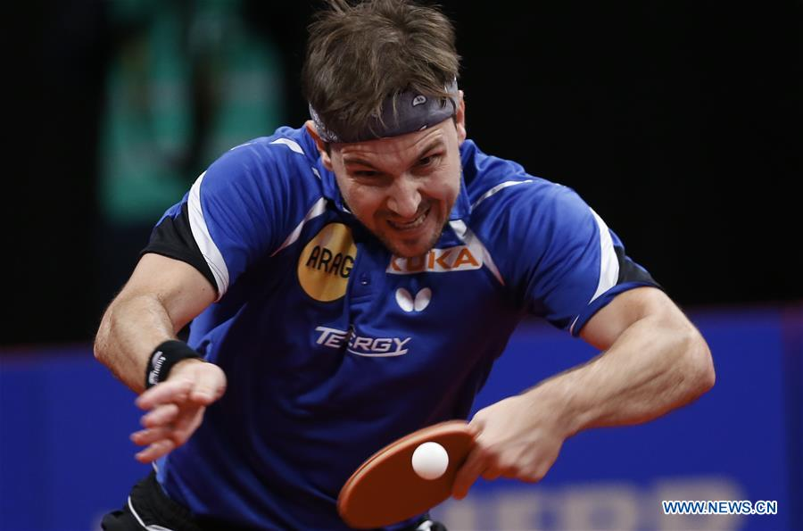 Ma Long loses to Timo Boll 3-4 at ITTF Men's W