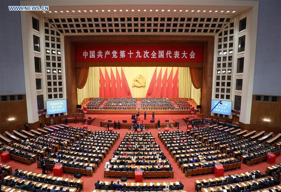 (CPC)CHINA-BEIJING-CPC NATIONAL CONGRESS-CLOSING (CN)
