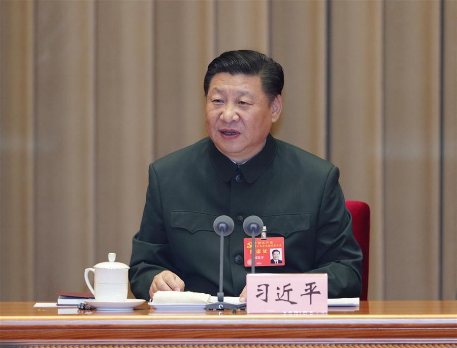 CHINA-BEIJING-XI JINPING-SENIOR MILITARY OFFICERS-MEETING(CN)