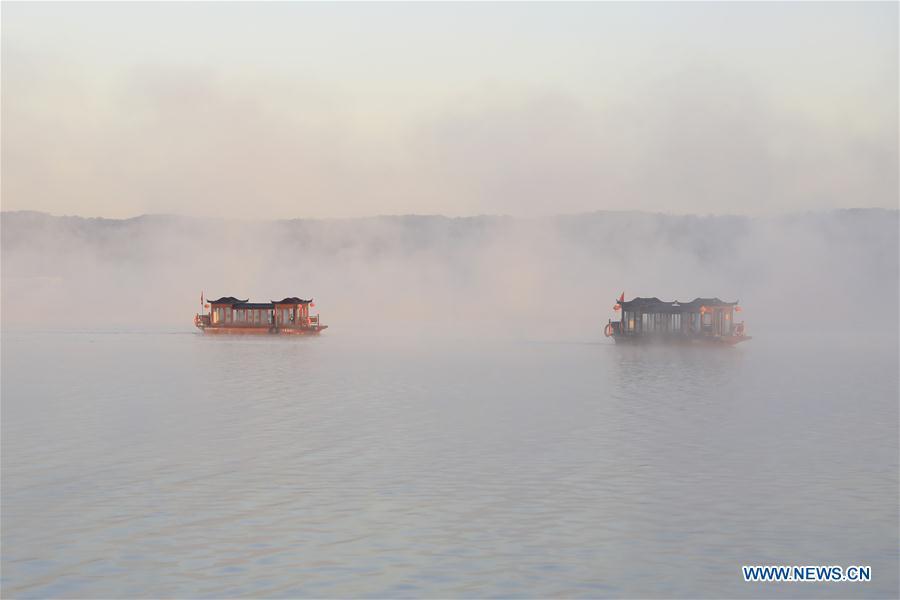 #CHINA-JIANGSU-XUYI-TIANQUAN LAKE (CN)