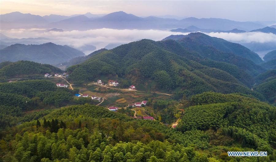 CHINA-ANHUI-HUOSHAN-SCENERY(CN)