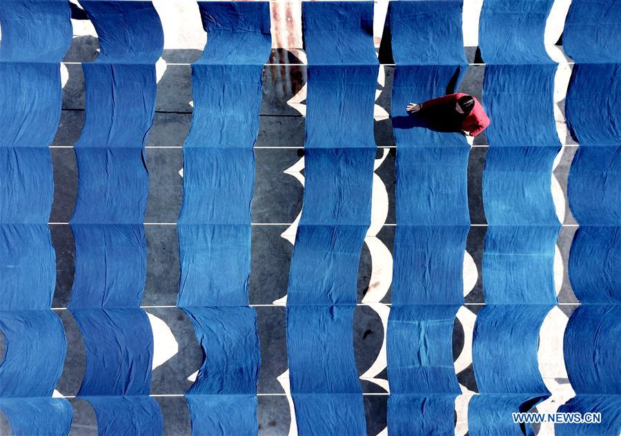 #CHINA-GUIZHOU-KAILI-INDIGO-DYED CLOTH (CN)
