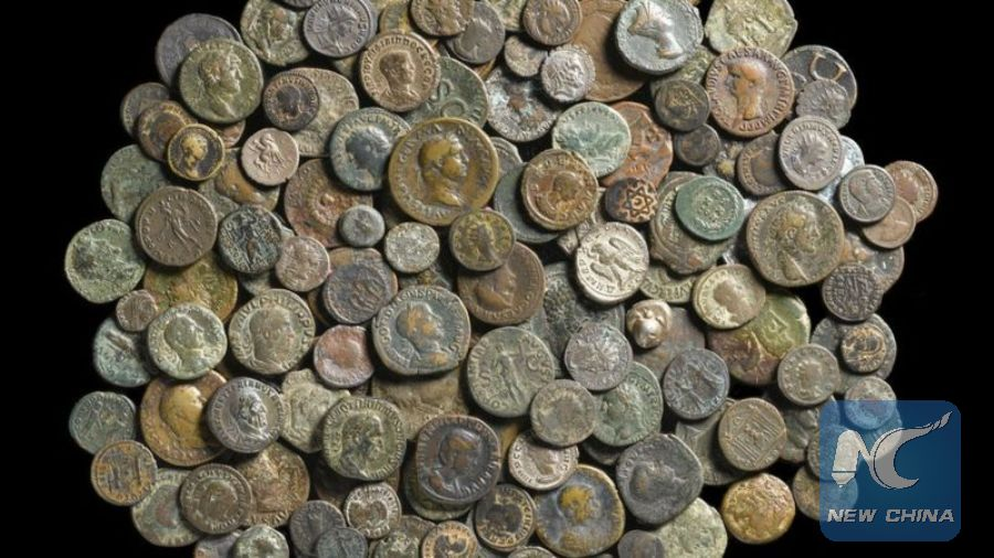 Coin collection dating back 2,500 years discovered in drawer