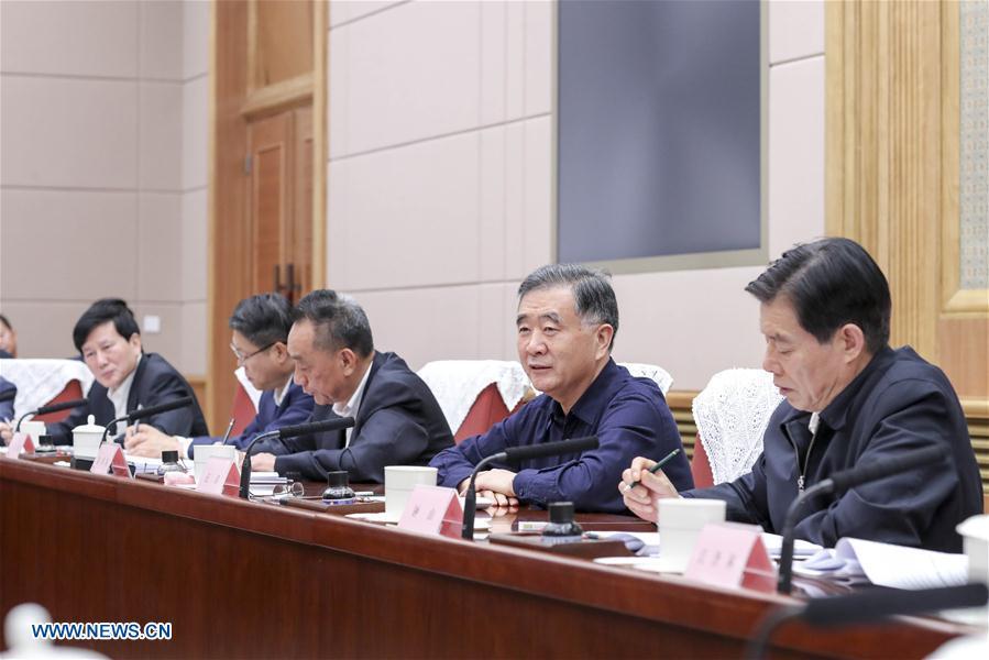 CHINA-BEIJING-WANG YANG-IPR FRAUD-MEETING (CN)