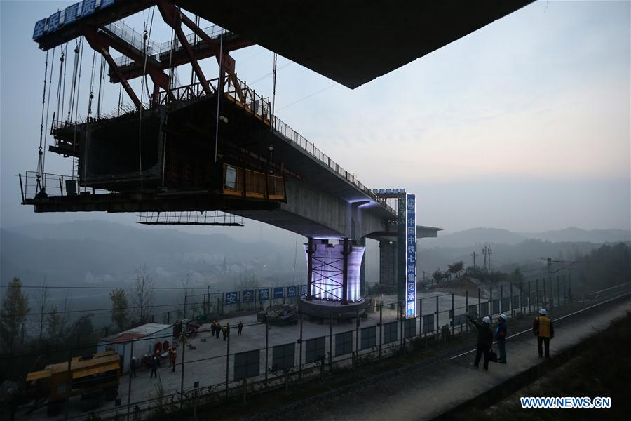 #CHINA-HUBEI-HIGH-SPEED RAIL-CONSTRUCTION (CN)