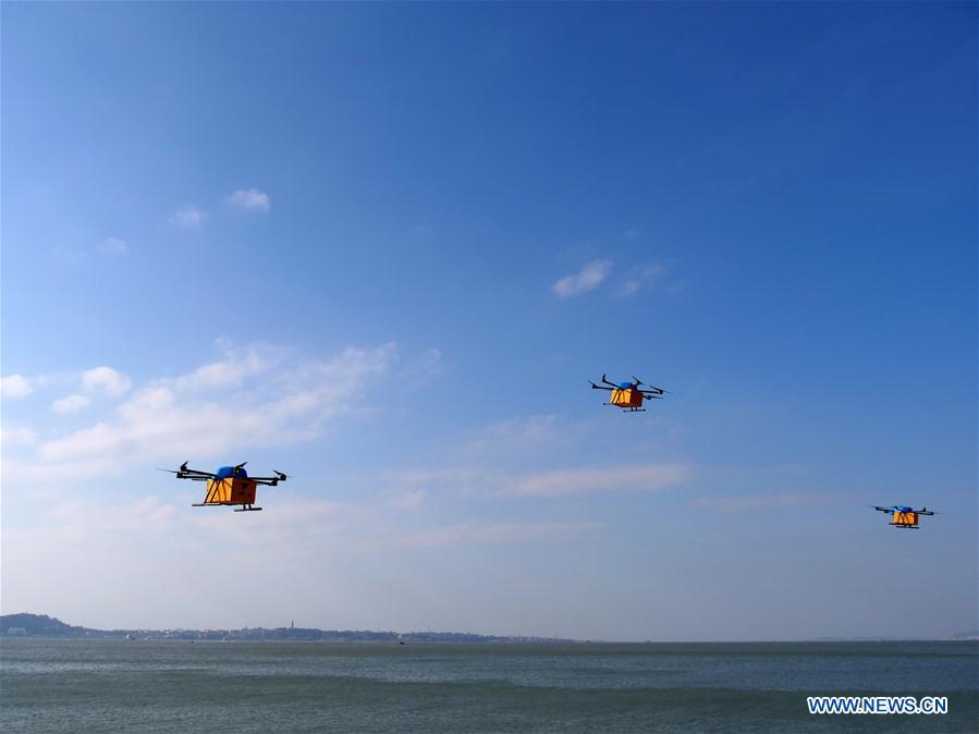 CHINA-FUJIAN-ALIBABA-DRONE-DELIVERY (CN)