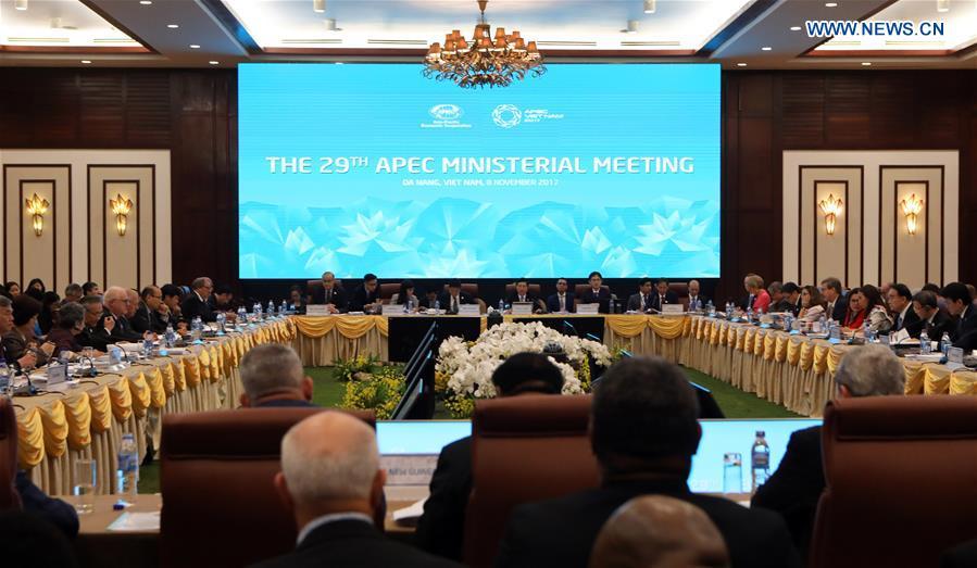 VIETNAM-DA NANG-APEC-MINISTERIAL MEETING
