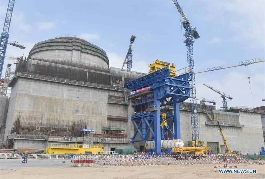 CHINA-FUJIAN-NUCLEAR PLANT-HUALONG ONE (CN)
