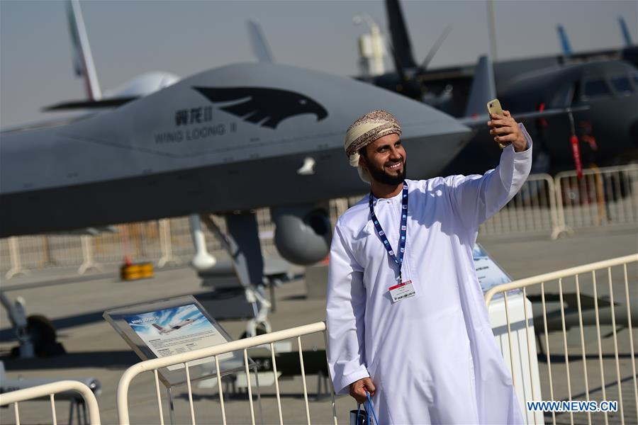UAE-DUBAI-AIRSHOW-CHINESE ELEMENTS