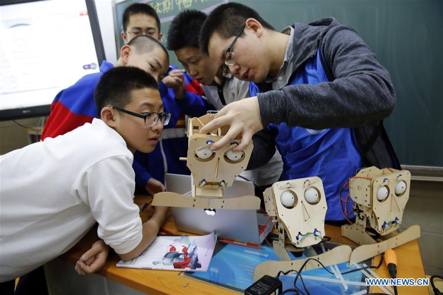 #CHINA-BEIJING-MIDDLE SCHOOL-SCIENCE (CN)