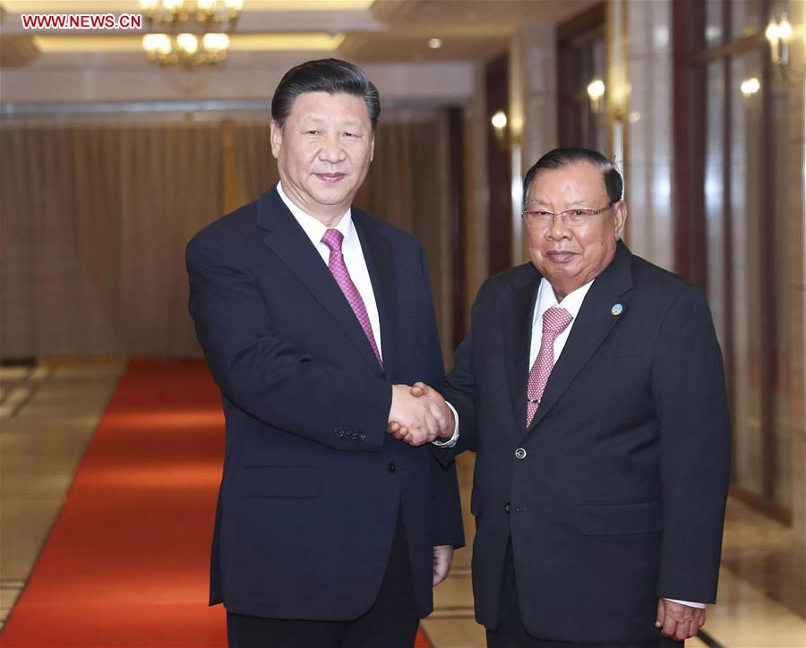 Xi meets Bounnhang again on historic, fruitful visit to Laos