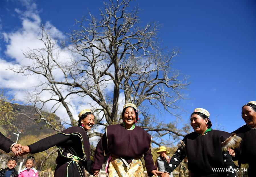 CHINA-TIBET-NYINGCHI-KONGPO NEW YEAR-CELEBRATION (CN)