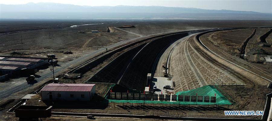CHINA-XINJIANG-GOLMUD-KORLA RAILWAY-CONSTRUCTION (CN)