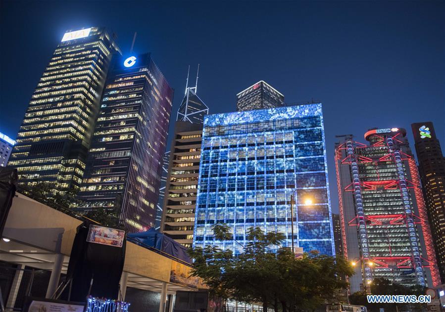 CHINA-HONG KONG-LIGHT SHOW (CN)