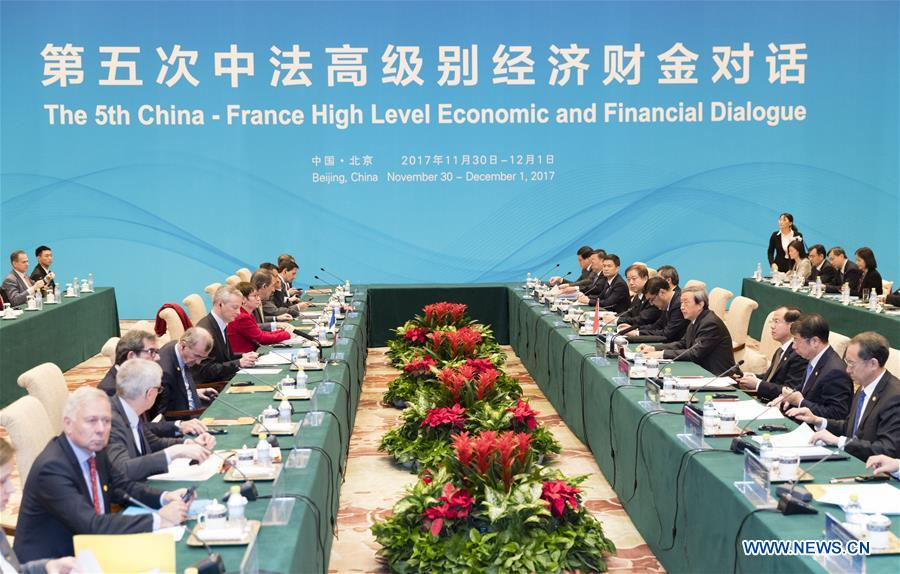 CHINA-BEIJING-FRANCE-DIALOGUE (CN)