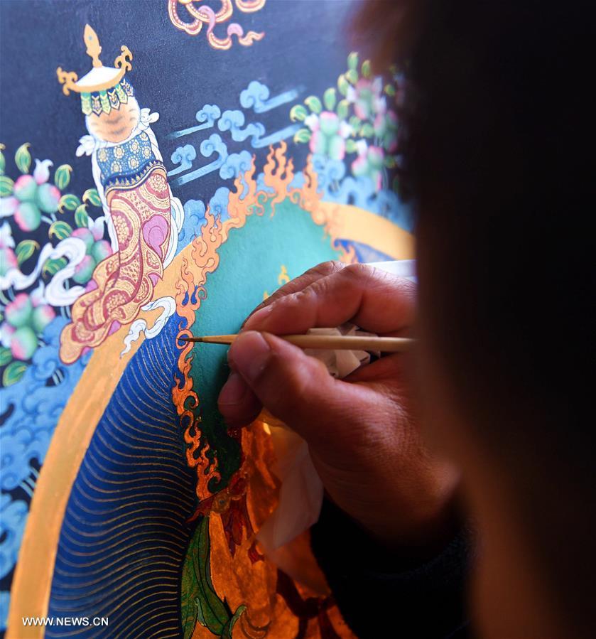 In pics: Tibetan art Tangka painting