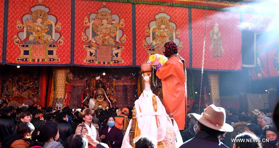 CHINA-TIBET-FAIRY'S DAY-CELEBRATION(CN)