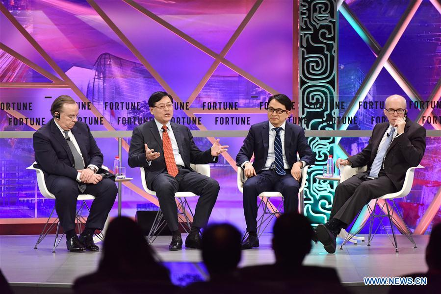 CHINA-GUANGZHOU-FORTUNE GLOBAL FORUM-PLENARY SESSION (CN)
