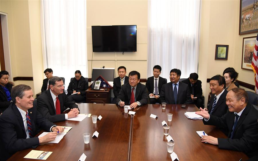 Tibetan NPC delegation concludes visit to U.S