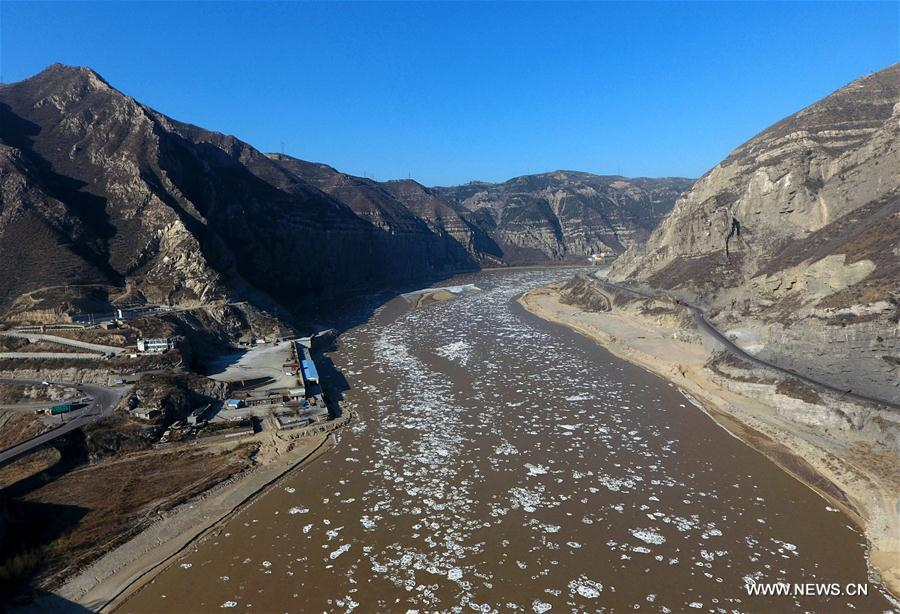 #CHINA-YELLOW RIVER-FLOATING ICE (CN)