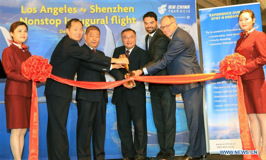 U.S.-LOS ANGELES-AIR CHINA-DIRECT AIR ROUTE