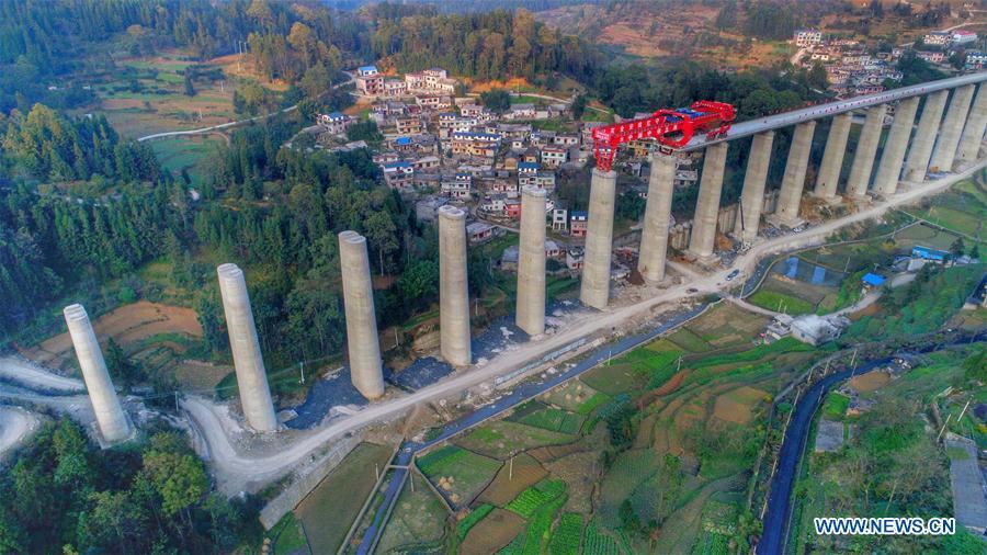 CHINA-GUIZHOU-INTERCITY RAIL-CONSTRUCTION (CN)