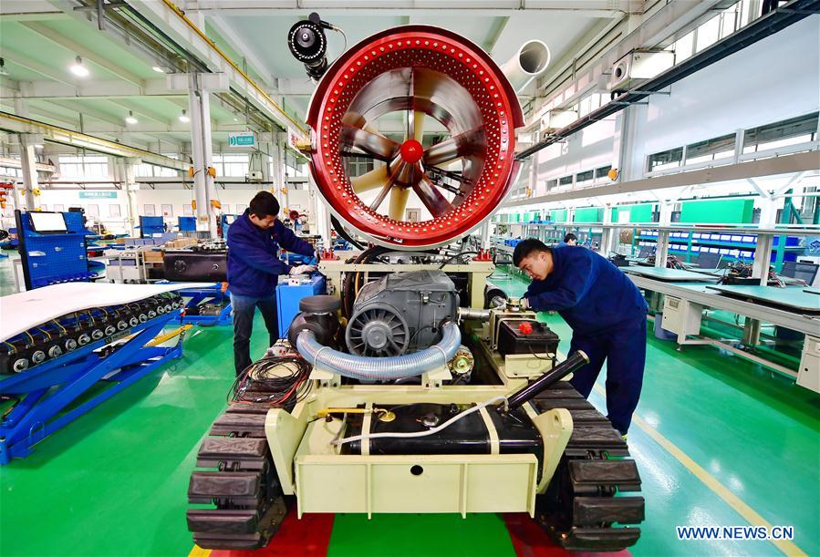 CHINA-HEBEI-MANUFACTURING-GROWTH (CN)