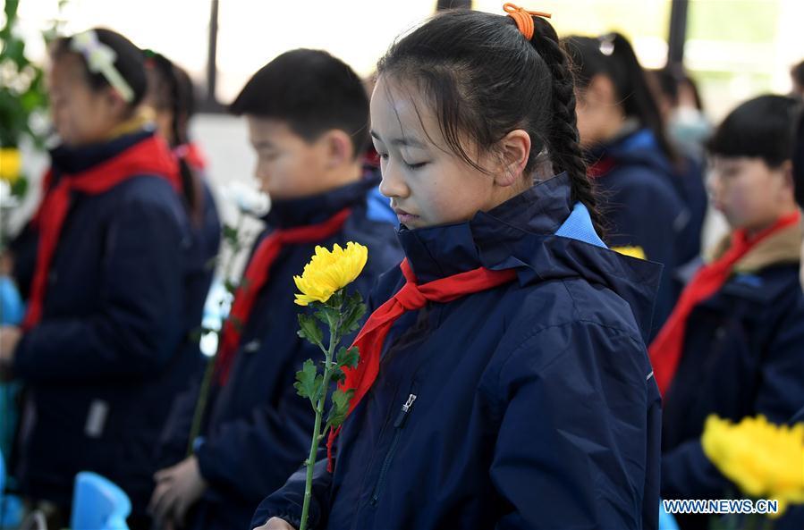 CHINA-ANHUI-NANJING MASSACRE VICTIMS-STATE MEMORIAL CEREMONY(CN)