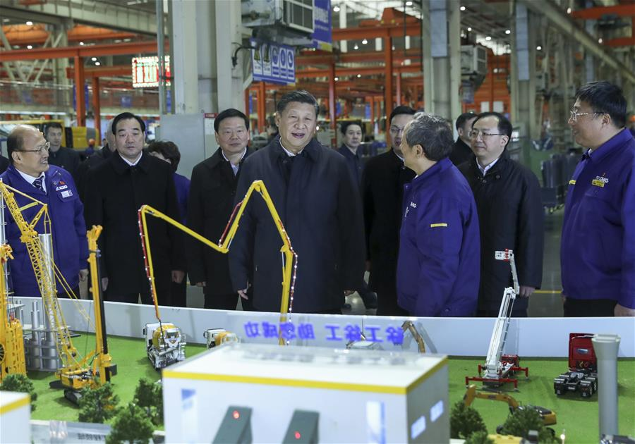 President Xi urges innovation in manufacturing sector