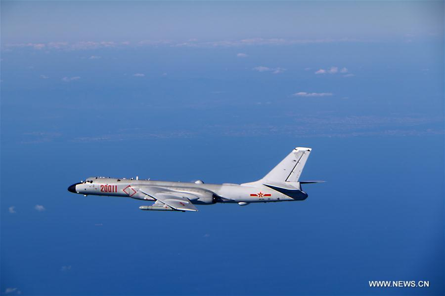 Chinese air force planes fly through Tsushima Strait for first time