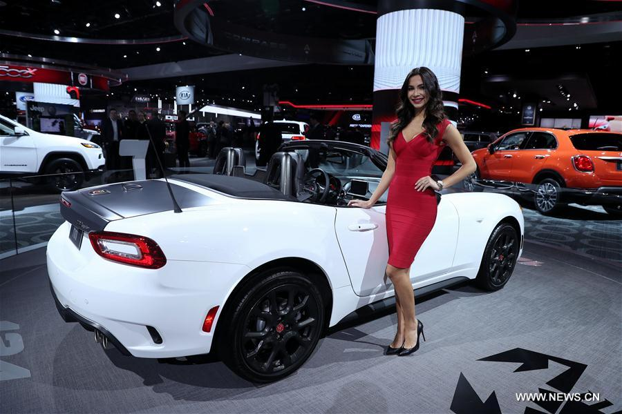 U S Detroit Auto Show Naias