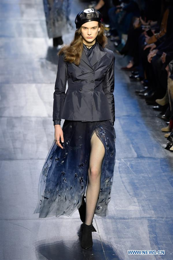 993de978411 A model presents a creation of Christian Dior during the Women's Ready-to- Wear
