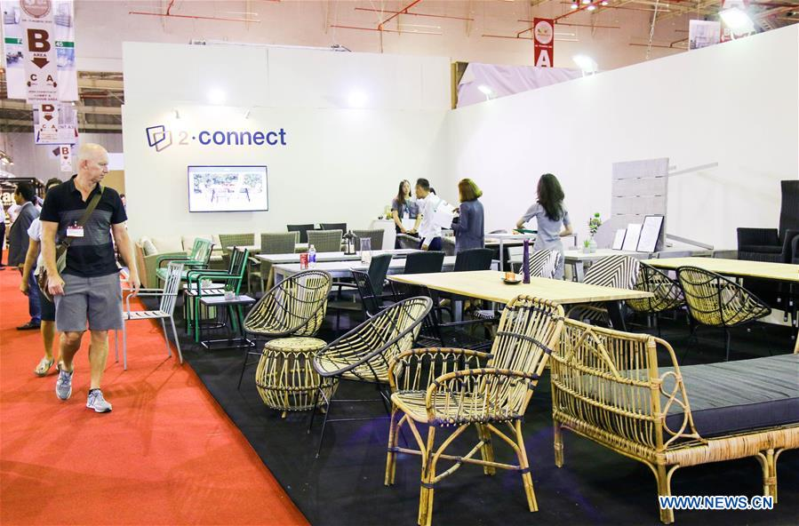 Vietnam Int 39 L Furniture Home Accessories Fair 2017 Held In Ho Chi Minh City Xinhua English