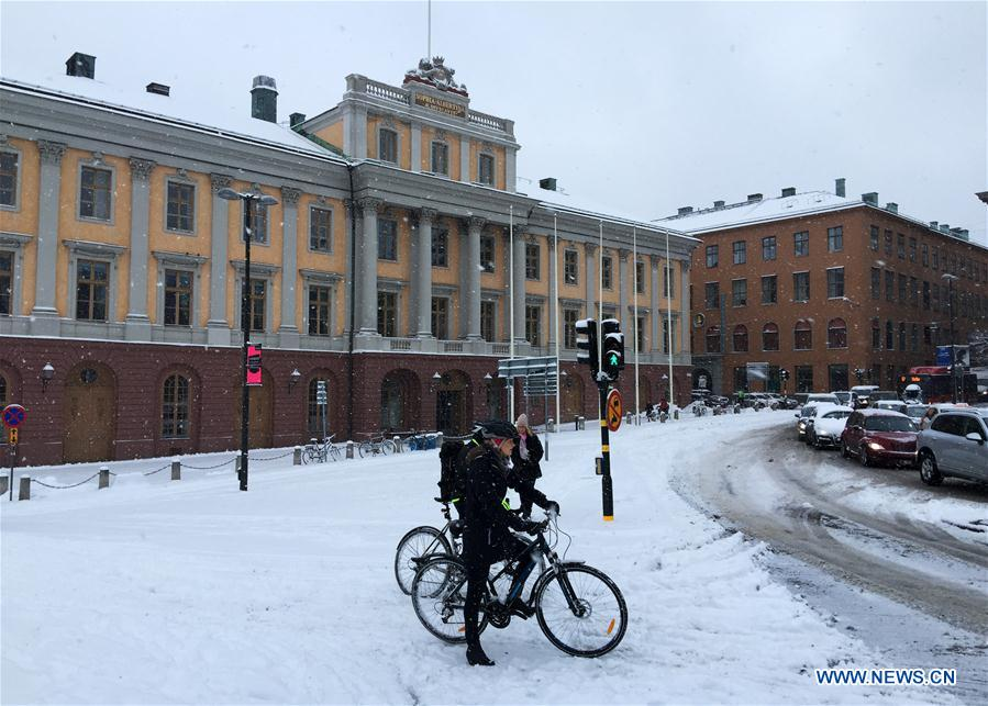 stockholm in the snow - photo #49