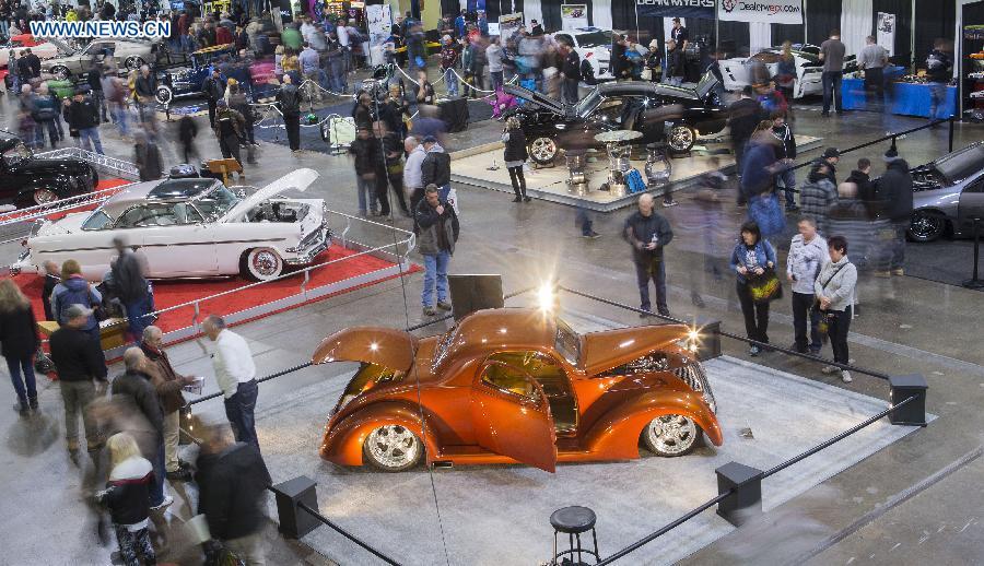 3rd Toronto Motorama Custom Car Motorsports Expo Kicks Off