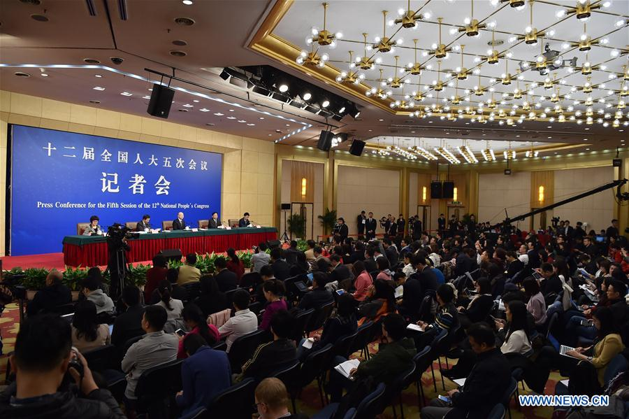 (TWO SESSIONS)CHINA-BEIJING-NPC-PRESS CONFERENCE-QUALITY (CN)